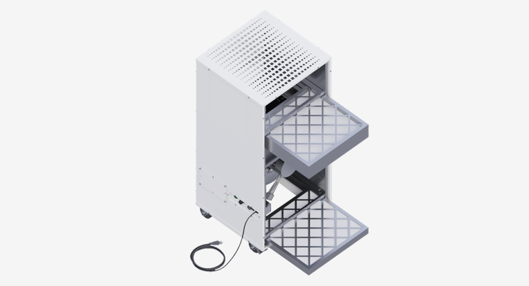 commercial air purification system