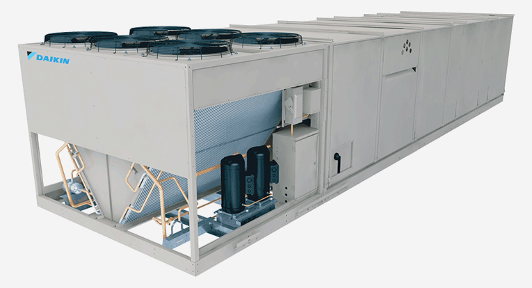 Rooftop AC Unit for Indoor Air Quality