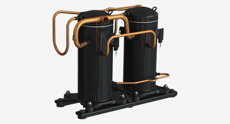 Scroll Compressors for Water Source Heat Pump